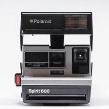 Polaroid 600 Sofortbildkamera One Step Spirit stahl  Sonderedition refurbished