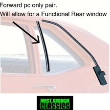 1964 65 Chevelle Lemans Buick Old Quarter Glass Run Channel Weatherstrip No Bead