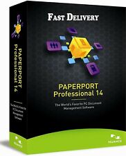 Nuance PaperPort 14.5 Professional   Lifetime License 3PC Key   Fast Delivery