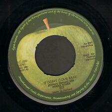 "RINGO STARR - It Don't Come Easy (1971 DUTCH APPLE VINYL SINGLE 7"")"