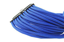 GELID SOLUTION 24 Pin Blue Braided Cord EPS Extension 30 cm UV Reactive M6B3IT M