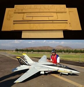 """80"""" Ws Sweep Wing F14 TOMCAT R/c Plane short kit/partial kit and plans, PLS READ"""