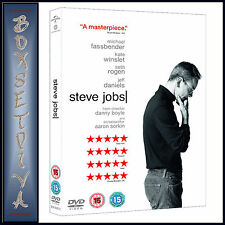 STEVE JOBS - Michael Fassbender & Kate Winslet *BRAND NEW DVD***