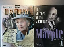 Miss Marple - 3 Feature Length Mysteries DVD & The Murder At The Vicarage