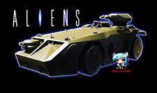 Movie Aliens M577 Armored Personnel Carrier APC Mini Resin Figure Model Kit 8cm