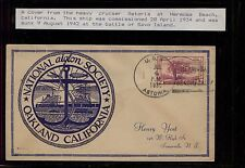 US  USS  Astoria ship cover sunk 1942  Savo Island                 KEL0113