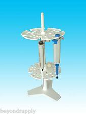 Lab plastic multifunction Multipurpose frame PIPETTE STAND Stand Rack new