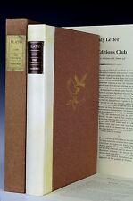 Limited Editions Club Lysis Friendship Symposium Phaedrus. Plato LEC Illustrated