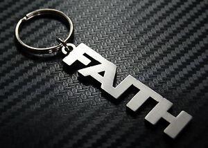 FAITH Name Keyring Keychain Key Fob