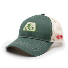 PIONEER SEED *HUNTER GREEN & KHAKI MESH* Trademark Logo CAP HAT *BRAND NEW* PS02