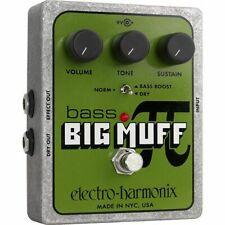 Electro Harmonix Bass Big Muff Pi Distortion Sustainer Pedal