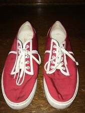Clae Mens Fashion Sneakers Size 10.5 Us Style Kennedy Red See Description