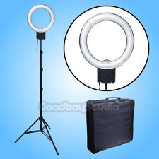 Studio Pro 40W 5400K Daylight Fluorescent Ring Lamp Light + 2M Stand w/ Bag 120V