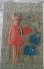 KNITTING PATTERN for Sindy Dolls cloths 4Ply 6691