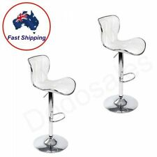 Faux Leather Chrome Modern Chairs