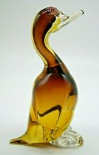 vintage Murano sommerso glass duck Archimede Seguso