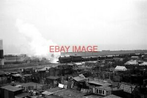 "PHOTO  LNER CLASS Q6 LOCO AT  SEAHAM €"" 1966 THIS VIEW CAPTURES TWO OF THE CLAS"
