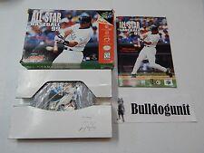 All-star Baseball 99 N64 Complete Nintendo 64 Game Box Manual