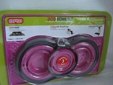 GENUINE Dog Bowls Set Of 3 With GrippMat Pink Free Post Superfast Shipping!