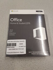 Microsoft Office Home & Student 2016 für Mac [1 Mac] Word, Exel und Powerpoint