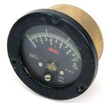 Vintage Weston Null Meter Gauge 0 30 100 5 Model 2531