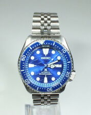 Seiko 7S26-0020 Men's Automatic Dive Watch Save the Ocean Great White Shark Mod