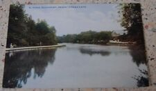 Southport - Hesketh Park Lake Postcard