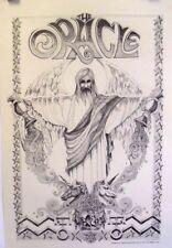 "Rick Griffin ""Aquarian Man"" | The Oracle #6 Feb. 1966 - Original Print"