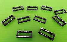 """IC Socket 32 Way 0.6"""" Wide 32Way Low Cost Stamped 102L32PT x 10pcs Trade Offers"""