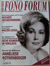 Fono Forum 6/06 M. Davis, W. Legge, A. Rothenberger, A. Beaumont, Pioneer DV-989