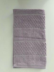 NWT DKNY Towels Purple Cotton Bath Hand Wash Cloth Choose Set Quick Dry Texture