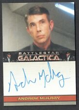 WOW! THIS CARD IS CHEAP! BATTLESTAR GALACTICA 4 Autograph Card ANDREW McILROY