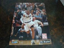 Philadelphia 76ers---Allen Iverson---Beat L.A.---Poster---2-Sided---10x14---2001