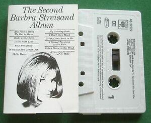 Barbra Streisand The Second Album inc Who Will Buy? + Cassette Tape - TESTED