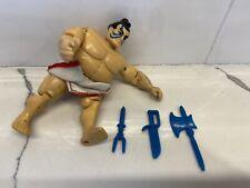 GI Joe Street Fighter E-Honda With Weapons!  1993 Nice Figure , Loin Cloth