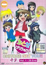 Chitose Get You!! Ep. 1-26 End DVD Eng Sub 0 Region