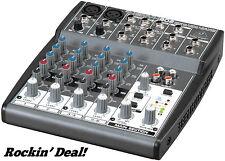 Behringer Xenyx 802 Premium 2-Bus Mixer Xenyx802 Audio DJ Mixing Board - NEW!!!