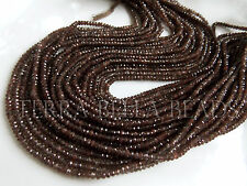 "13"" strand brown SCAPOLITE CATS EYE faceted gem stone rondelle beads 3mm"