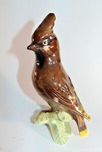 Stunning Goebel Waxwing Bird 1967 CV80 Figurine