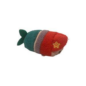 "Disney Store Authentic The Little Mermaid:Ariel Tsum Tsum 4"" Mini Plush Doll Toy"