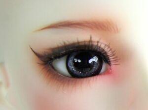 12mm Resin Eyes For 1/3 1/4 1/6 BJD Doll Doll Dollfie Handmade Human iris Black