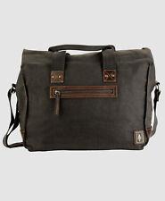 $359 DamnDog Men's Gray Under Gear Messenger Work Tools Shoulder Handbag Bag