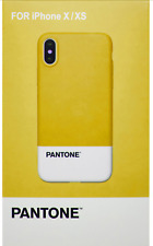 PANTONE APPLE IPHONE X XS SLIMLINE STYLISH DESIGNER CASE NEW SEALED RRP £19.95