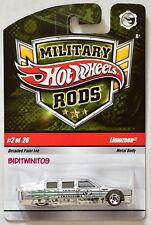 HOT WHEELS 2008 MILITARY RODS LIMOZEEN #2/26