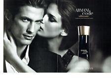 Publicité Advertising 078  2012  parfum homme Armani Code  ultimate  (2 pages)