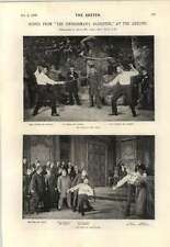 1895 Scenes From Swordsman's Daughter Maid In Moon A Roman Fete
