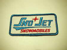 Vintage Nos Sno-Jet Snowmobiles Patch