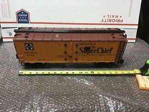 "Aristo-Craft 46228-3 Santa Fe ""Super Chief"" Reefer"