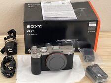 US model - Sony Alpha a7C 24.2MP Full Frame Mirrorless Camera - Silver