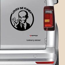 """Auto Aufkleber """"Louis de Funes"""" 12x12cm Sticker Movies Gendarm Versandkostenfrei"""